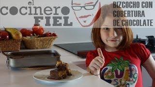EL COCINERO FIEL #519 BIZCOCHO CON COBERTURA DE CHOCOLATE