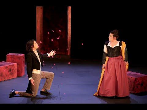 Bande annonce du spectacle Les Romanesques au Théâtre le Ranelagh, mis en scène par Marion Bierry