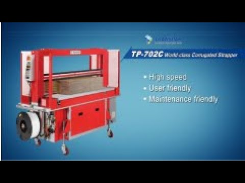 High Speed Corrugated Strapper | TP-702C | From Trio Packaging