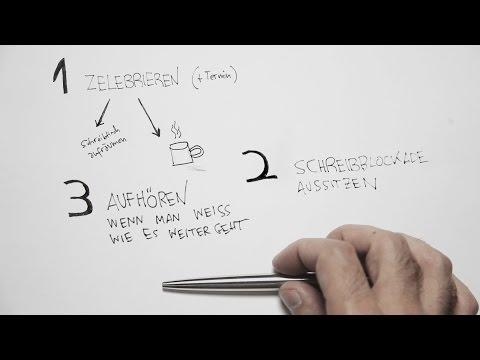 MOTIVATION | Drei Regeln für das Schreiben