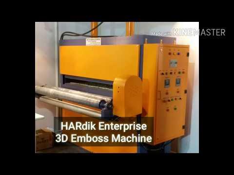 Fabric Embossing Machines