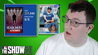 HEADLINERS SET 8 PACK OPENING | MLB The Show 20 Diamond Dynasty
