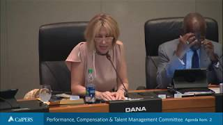 Performance, Compensation & Talent Management Committee - Part 1   February 13, 2018