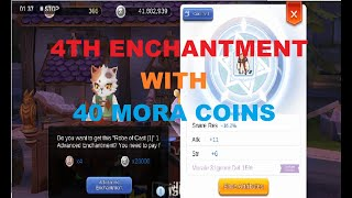 4TH ENCHANTMENT WITH 40 MORA COINS/TIPS AND TRICKS/Ragnarok Eternal Love