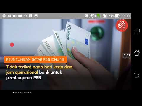Bayar pbb via online