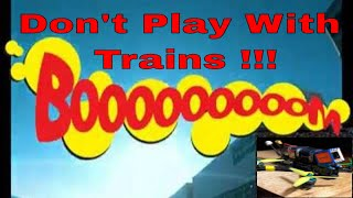 Do Not Play With Trains FPV Freestyle