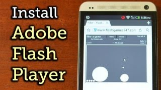 Install Adobe Flash Player on the HTC One [How-To]