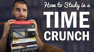 How to Study and Do Homework in a Time Crunch - College Info Geek