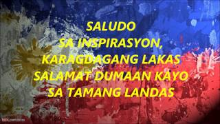 SALUDO with lyrics