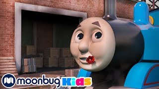 Rosie is Red | Thomas & Friends  | Trains for Children | Train Song | Moonbug for Kids