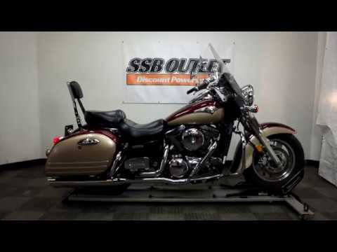 2003 Kawasaki Vulcan 1500 Nomad Fi in Eden Prairie, Minnesota - Video 1
