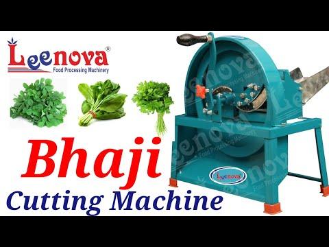 Leenova Bhaji Cutting Machine