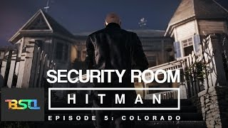 hitman 2016 bangkok security room