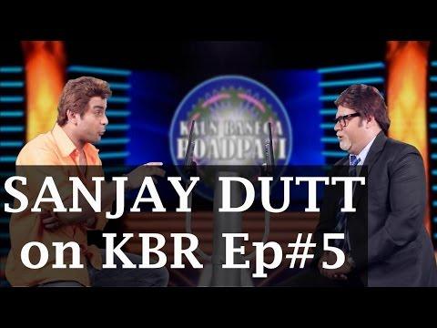 Sanjay Dutt on Kaun Banega Roadpati Season 2 - Full Episode 5 - ComedyOne