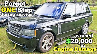 Land Rover Dealer RUINED the $20,000 Supercharged Engine in my Range Rover! I'll Fix it Myself!