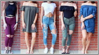 OOTW: Beginning Of Fall School Outfits ♡ Xlivelaughbeautyx