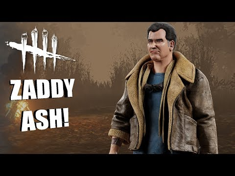 NEW ASH COSMETIC! | Dead By Daylight ASH WILLIAMS COSMETIC