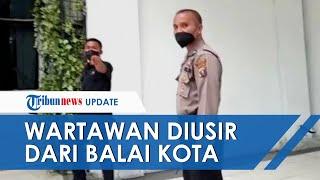 Detik-detik Wartawan Diminta Matikan Kamera dan Diusir saat Ingin Wawancara Bobby Nasution