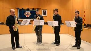 """Cambrils Sax Quartet - """"Moon River"""""""