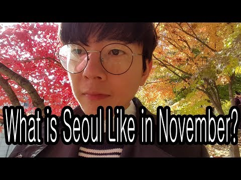 What Seoul is Like in November