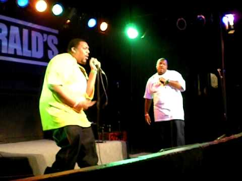 Who am i productions perfoming live at Fitgeralds 2