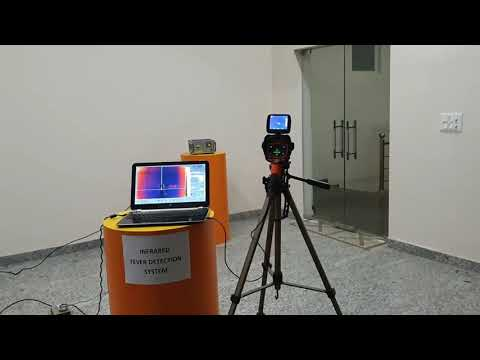Satir Make Hotfind-S Thermal Camera For Fever Scanning