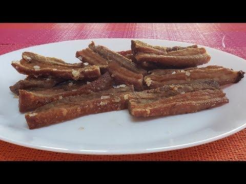 Watch How to cook Crispy Pork Belly /Mira cómo cocinar el vientre de cerdo crujiente