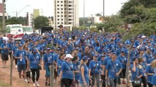 Matéria Unesp Notícias - 18/03/2013 - Caminhada contra o câncer de mama mobiliza 4 mil em Bauru