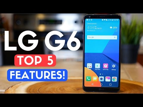 LG G6 Review: TOP 5 FEATURES! Best Smartphone of 2017? 🔥