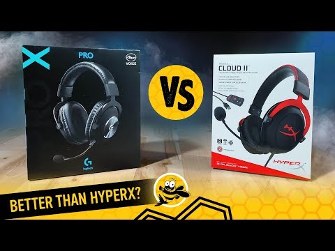 Logitech G Pro X vs. HyperX Cloud II Gaming Headsets: Should HyperX Be Worried?
