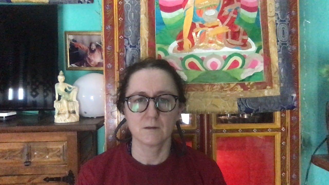 Lama Gangchen Tantric Self-Healing 2- Commentary by Lama Caroline - part 74 (EN)