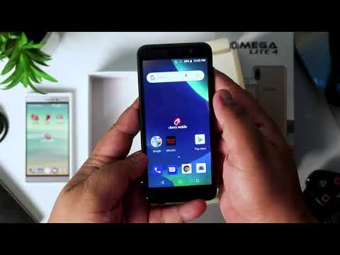 Cherry Mobile Omega Lite 4 Unboxing and First Look