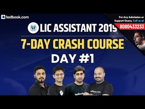 LIC Assistant Prelims Crash Course   Day 1   LIC Assistant Reasoning, Math, English & Hindi Classes