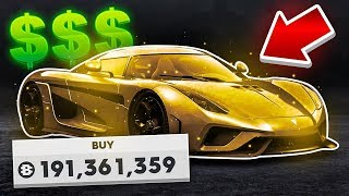 UNLOCKING THE MOST EXPENSIVE CAR IN-GAME! (The Crew 2)