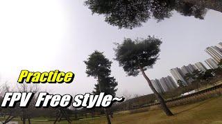 JW FPV_Practice FPV Free style~