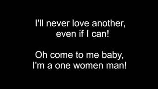Josh Turner - One Woman Man - Lyric Video (2007)