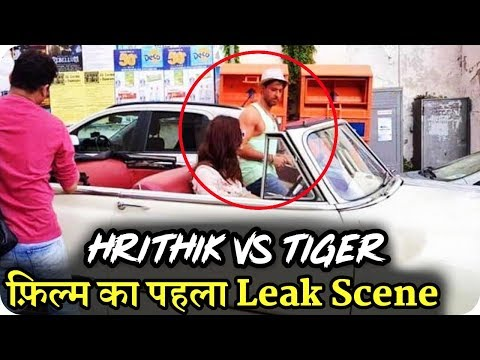 Hrithik Vs Tiger Shooting First Scene Leak    Hrithik Roshan    Tiger Shroff    Vaani Kapoor