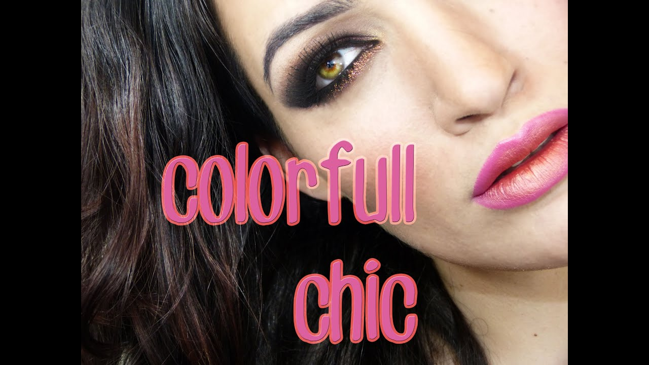 NonaMakeUp: Look en rojos para destacar ojos verdes! Colorfull Chic