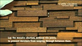 Laying Wood mosaics by L'Antic Colonial | PORCELANOSA Grupo