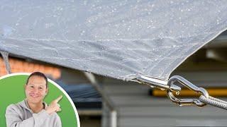 Sonnensegel in wasserdicht » Was Sie wissen sollten!