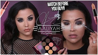 WATCH BEFORE YOU BUY MAC X AALIYAH COLECTION: REVIEW, DEMO + LIP SWATCHES | MakeupByAmarie