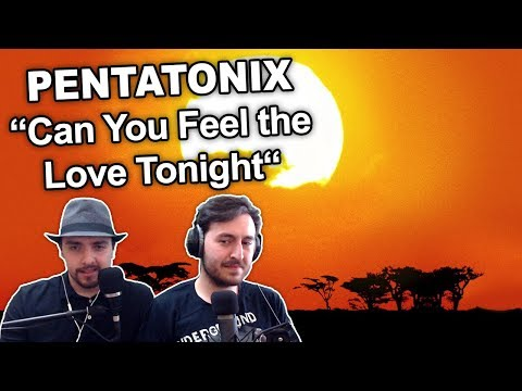 Pentatonix Can You Feel The Love Tonight Audio Singers Reaction Review