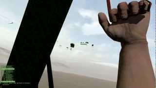 Arma 2 Editing & Scripting - C130 Paradrop & Air cover