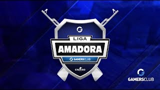 Liga Amadora Gamers Club JUN/17 - WWW vs. Defkon (Mapa 1 - Overpass)