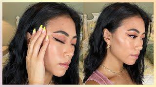 Winged Eyeliner Tutorial For Monolids Using Liquid Or Pencil Eyeliner | Christine Le