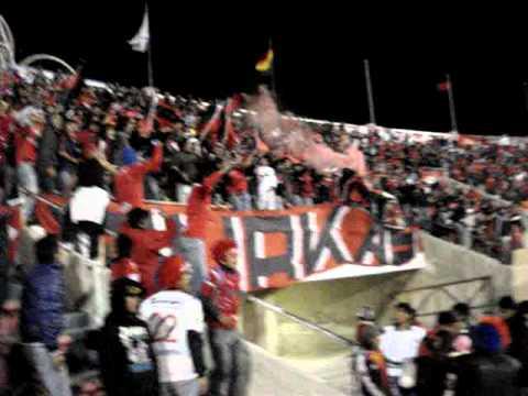 """GURKAS-WILSTERMANN A PRIMERA - INVASION SUCRE 30-05-2012"" Barra: Gurkas • Club: Jorge Wilstermann"