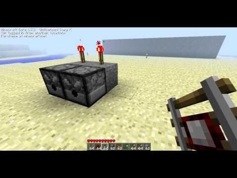 Minecraft - How To Make The Redstone Arrow/Ticker [Tutorial