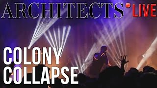Architects  Colony Collapse LIVE In Gothenburg Sweden 24/10/2016
