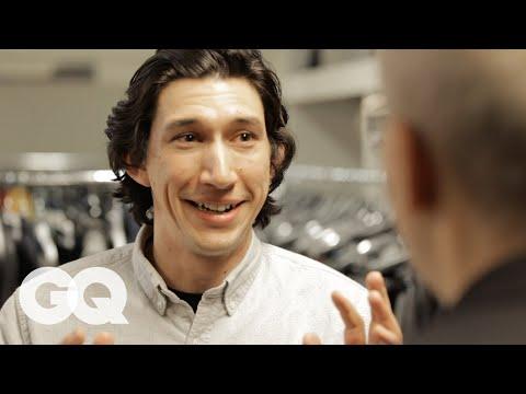 Adam Driver Meets His Man Crush at His GQ Cover Shoot