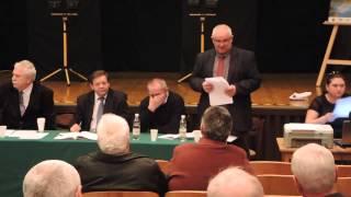 preview picture of video 'Zebranie Wiejskie Wyborcze - Kaźmierz Nowa Wieś 2/2'